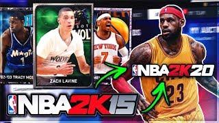 Using an NBA 2k15 TEAM in NBA 2k20 MyTEAM....