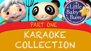 Nursery Rhymes Karaoke Compilation Part 1 from LittleBabyBum
