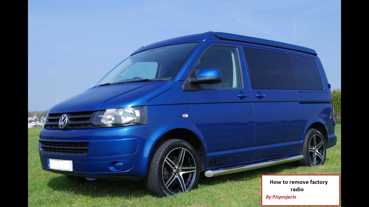 VW Transporter T5 radio quick removal guide