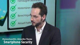 #heiseshowXXL: Smartphone-Sicherheit