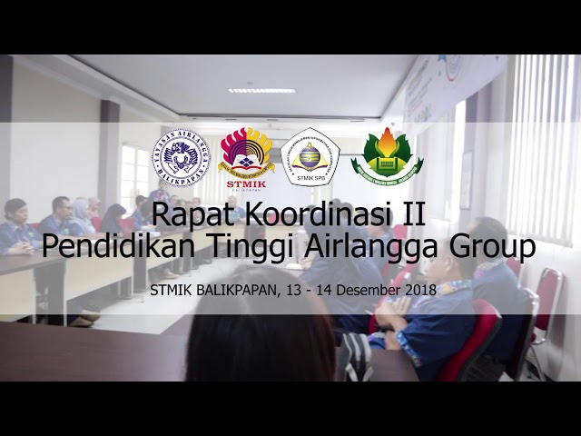 Rapat Koordinasi II Pendidikan Tinggi Airlangga Group