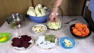 Капуста по грузински со свеклой - рецепт приготовления. Грузинская капуста.(Капуста по грузински со свеклой - рецепт приготовления. Грузинская капуста. Ингредиенты: 1,5 литра воды,..., 2015-02-10T13:25:30.000Z)
