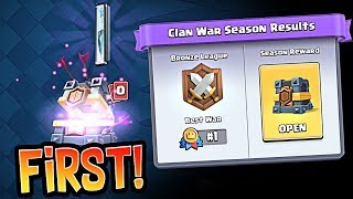FIRST EVER Clan War Chest!