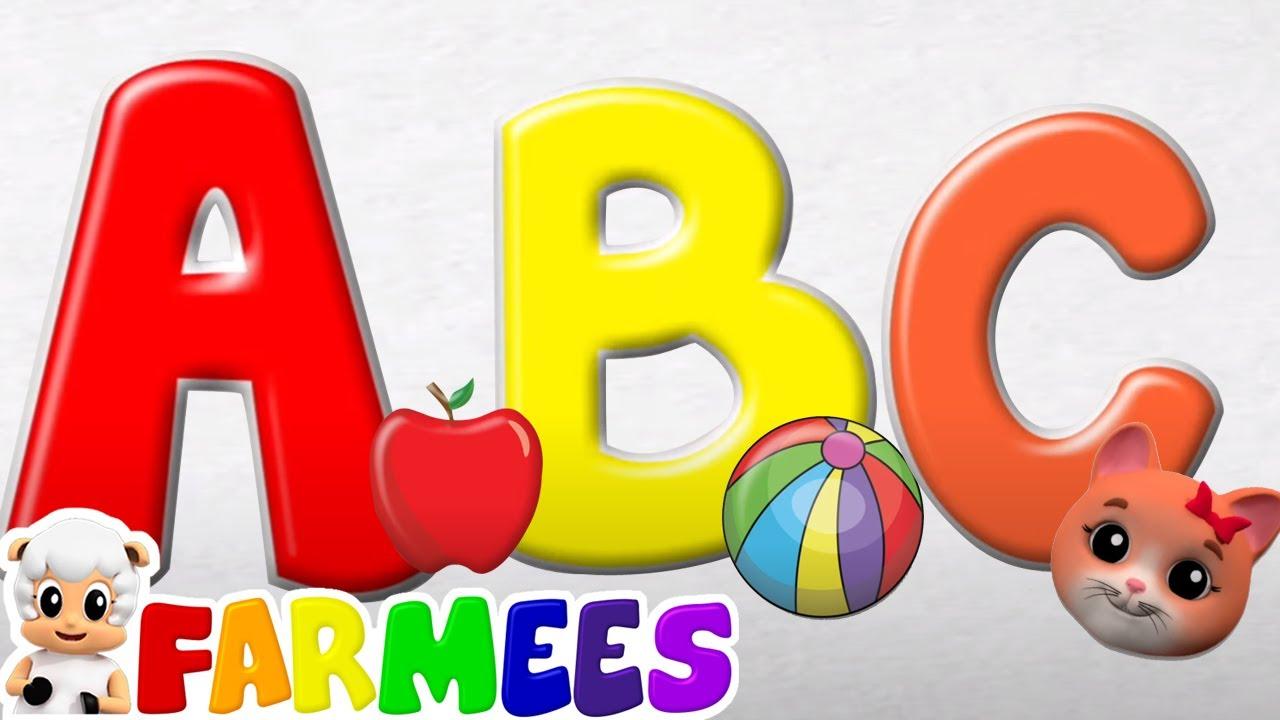Canzone fonetica   Cartoni animati per bambini   Filastrocche   Farmees Italiano   Educazione