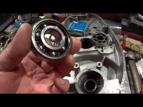Сборка двигателя ИЖ 56 (часть 1)