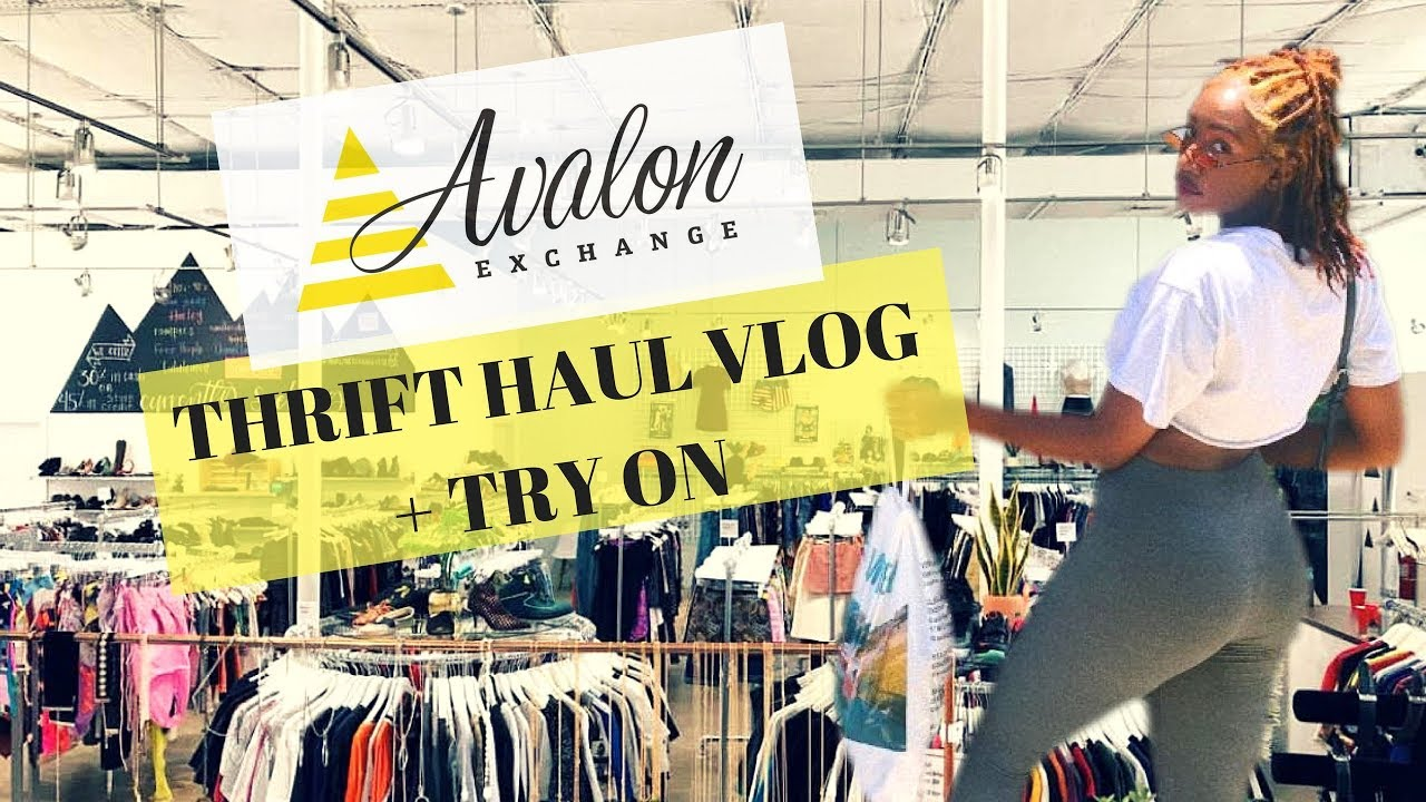 Epic Designs Clothing Store | Thrift With Me Epic Try On Thrift Store Haul Ft Avalon Exchange