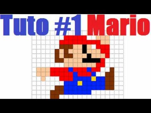 Comment Dessiner Mario En Pixel