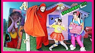 O VILÃO PAPÃO E AS BONECAS DIVERTIDAS ! The Fun dolls and the villain Booby