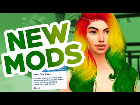 New Sims 4 Mods! Allowance, Fish Tank Overhaul, and MORE!  (The Sims 4 mods)