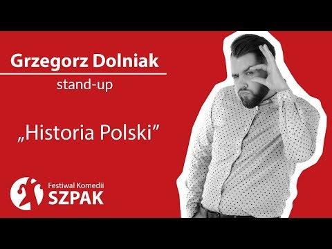 """Grzegorz Dolniak stand-up - """"Historia Polski"""""""