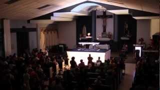 Oración  frente a las dificultades (Hora Santa de 10/01/2013)