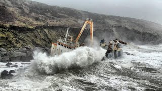 Ghost ship in storm, short version FB page
