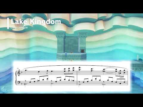 Lake Lamode 1 - Super Mario Odyssey ~ Piano Sheet Music