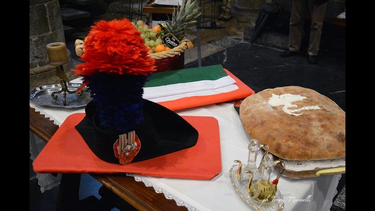 """Albenga celebra la Santa Messa per la """"Virgo Fidelis"""" patrona dei Carabinieri: video #1"""