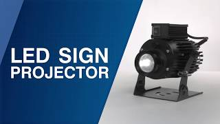 LED Sign Projector