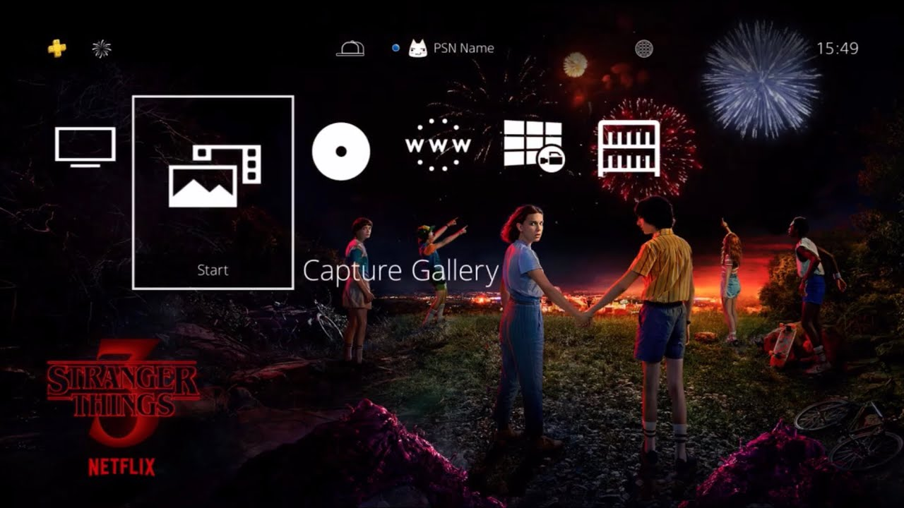 Stranger Things 3 Ps4 Theme Now Available For Free