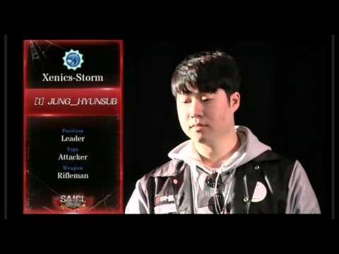 日韓戦選手紹介Xenics StormとLythronax