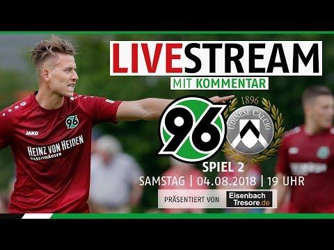 RE-LIVE: Hannover 96 vs Udinese | Spiel 2