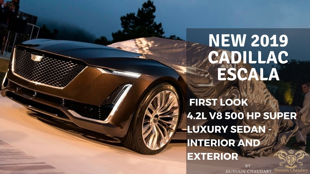 Cadillac Escala Release Date >> 2019 Cadillac Escala Concept 4.2L | Price, Release Date, Specs & Review - YouTube