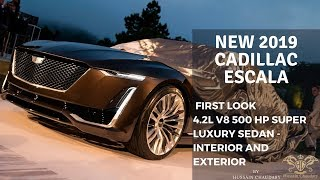 2019 Cadillac Escala Concept 4.2L | Price, Release Date, Specs & Review