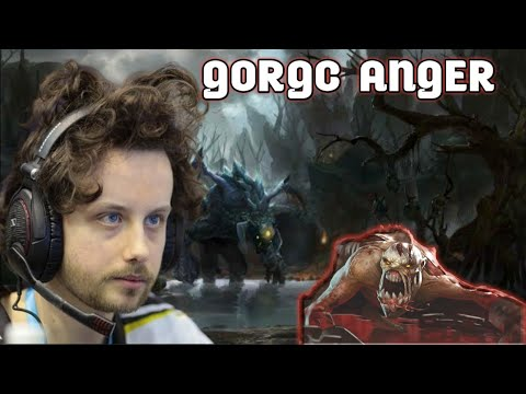 GORGC ANGER WHEN AEGIS WAS STOLEN BY THE ENEMY! DOTA 2 CLIP TWITCH