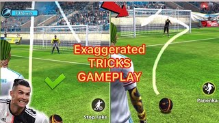 FOOTBALL STRIKE EXAGGERATED TRICKS IN ARGENTINA TIER GAMEPLAY KING CAP GAMING