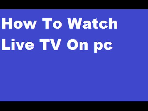 Watch live tv on computer twc xbox