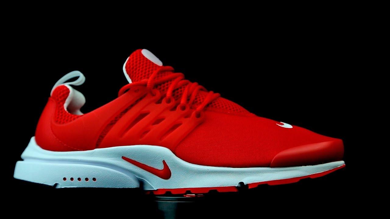 Nike Air Presto rojo.
