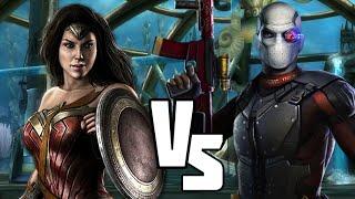 INJUSTICE Suicide Squad VS Justice League DCEU