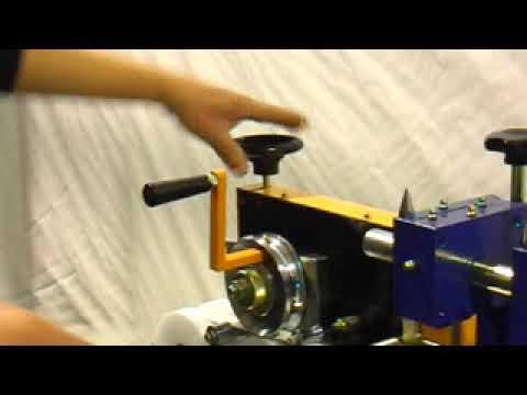 M1COT -281 Manual machine for manufacture of Aluminum Venetian Blinds