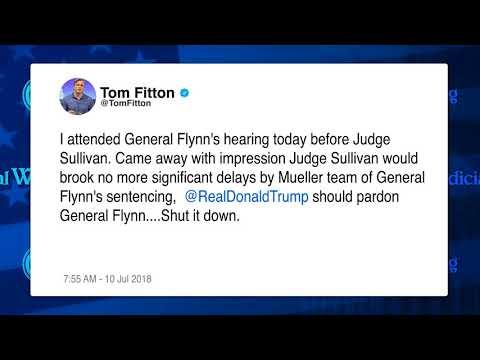JW: President Trump Should Pardon Lt. General Mike Flynn
