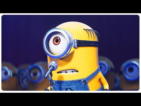 Despicable Me 3 MINIONS KARAOKE Challenge Trailer (2017) Steve Carell Animated Movie HD