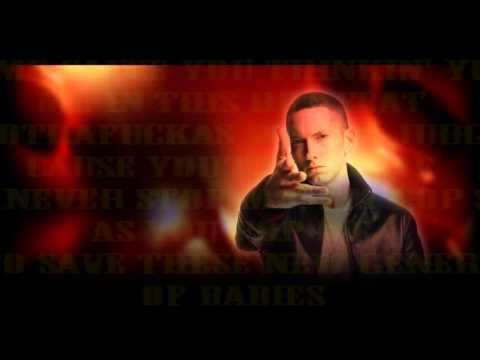 Eminem - Get Back Up ft. T.I. & Lupe Fiasco [Lyrics Video]