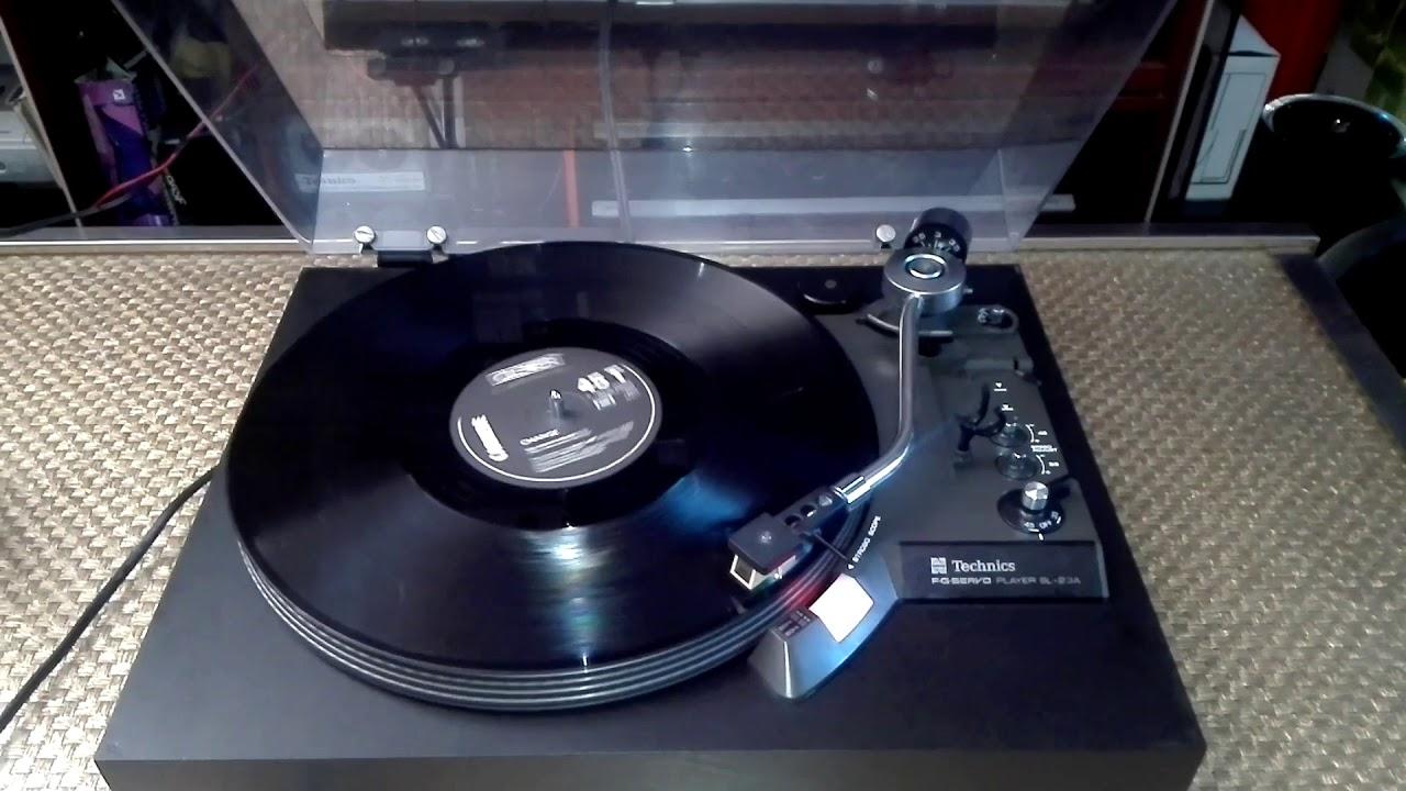 platine vinyl technics sl 23a youtube