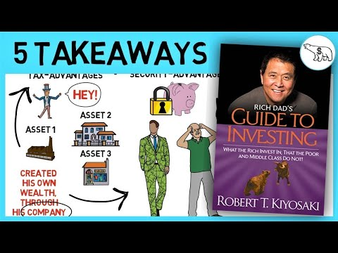 RICH DAD'S GUIDE TO INVESTING (BY ROBERT KIYOSAKI)
