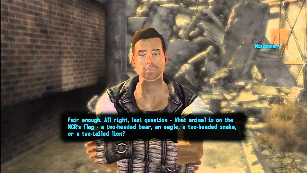Fallout Quiz