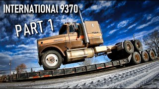 International 9370 🦅 Restoration - Part 1 - Welker Farms Inc