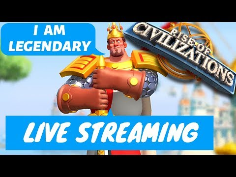 Rise of Civilizations - Live - Upgrading El Cid ! - Sunday chilling day - Q/A