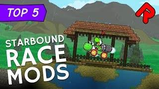 Top 5 Starbound Race Mods: Play as a snake, rabbit & more! | Best Starbound mods