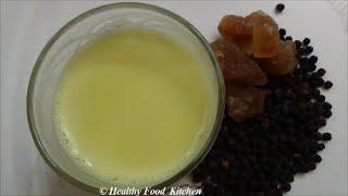Panakarkandu Paal Recipe-turmeric Milk Recipe-haldi Ka Doodh Recipe By Healthy Food Kitchen