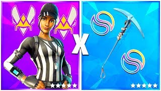 5 PLAYER PRO SKINS COMBO on FORTNITE!! #2🔥