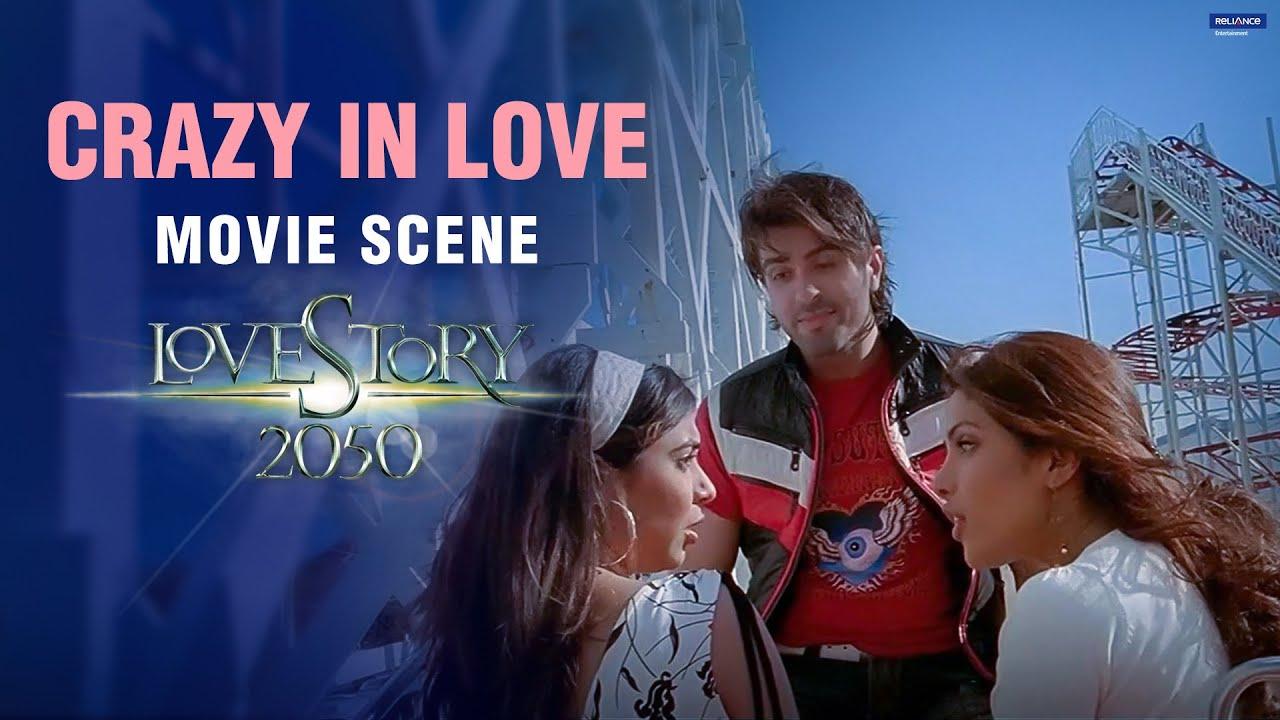 Download Crazy In Love | Love Story 2050 | Movie Scene | Priyanka Chopra, Harman Baweja | Harry Baweja