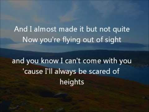Scared of Heights - Lyrics