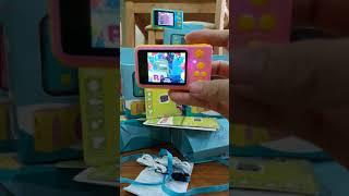 Test máy ảnh mini cho bé kèm thẻ nhớ 16gb