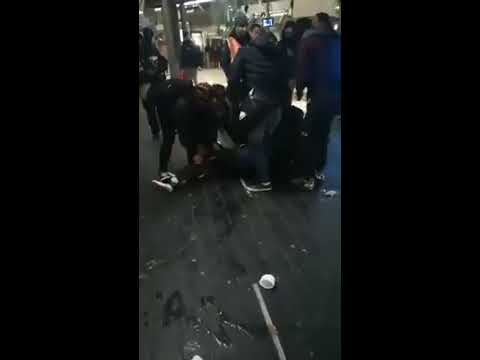 London Stratford station hammer attack