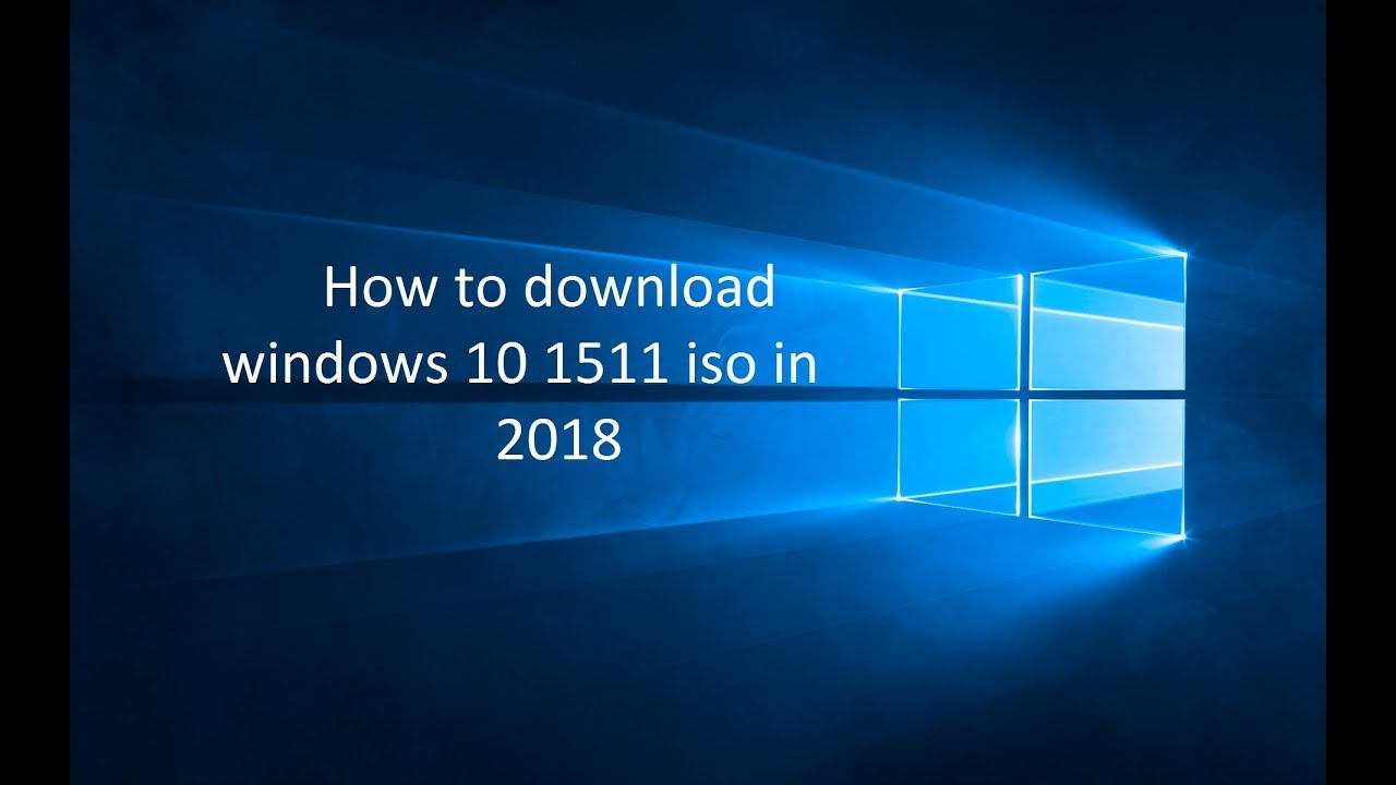 win 10 version 1511 iso