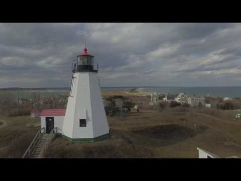 Gurnet Lighthouse in Plymouth with my phantom 4 drone