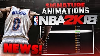 NBA 2K18 NEWS - WE PICK THE ANIMATIONS IN THE GAME *MUST SEE* #SigNation