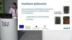 Kestävä bioresiduaalibetoni: Metsäteollisuuden sivuvirroista betonin raaka-aineeksi, Leena Turunen