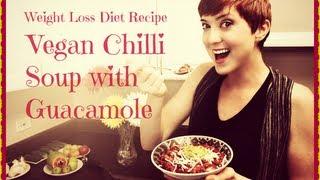 Fat Loss Vegan Chili Soup